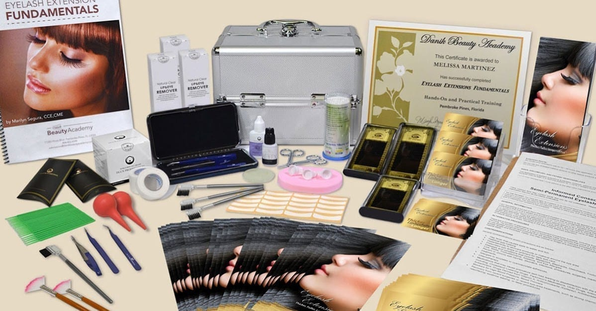 eyelash extension classes: must-have in your eyelash extension kit